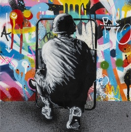 Martin Whatson, 'Zero Tolerance,' 2016, Forum Auctions: Editions and Works on Paper (March 2017)