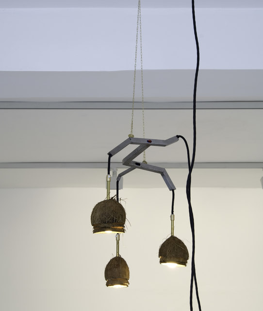 , 'Coconut Chandelier with 3 Lamps,' 2017, Etage Projects