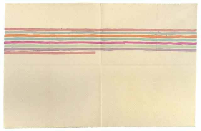 , 'Linee orizzontali,' 1974, Luca Tommasi