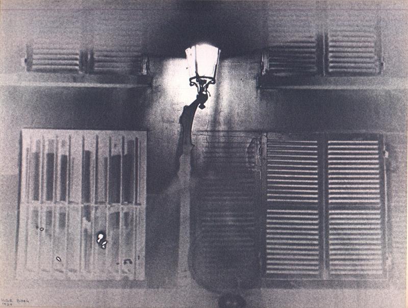 Ilse Bing, 'Bec de Gaz, Paris, 1934,' 1934, SAGE Paris