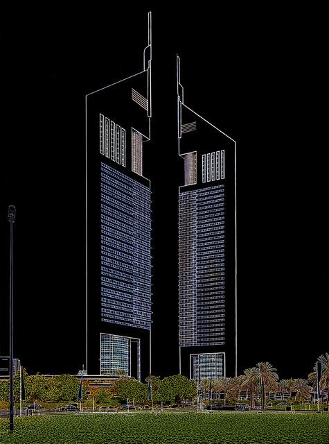 , 'Emirates Towers,' 2014, Sabrina Amrani