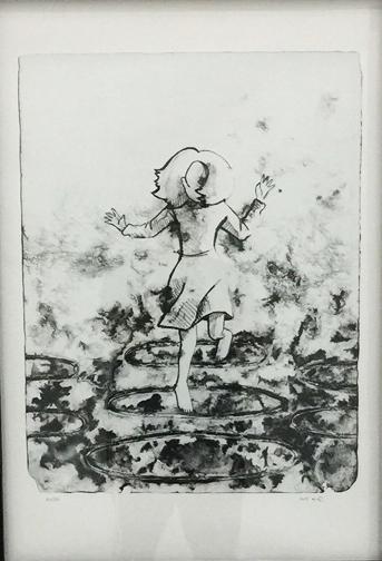, 'Girl Jumping Rope,' 2014, al markhiya gallery