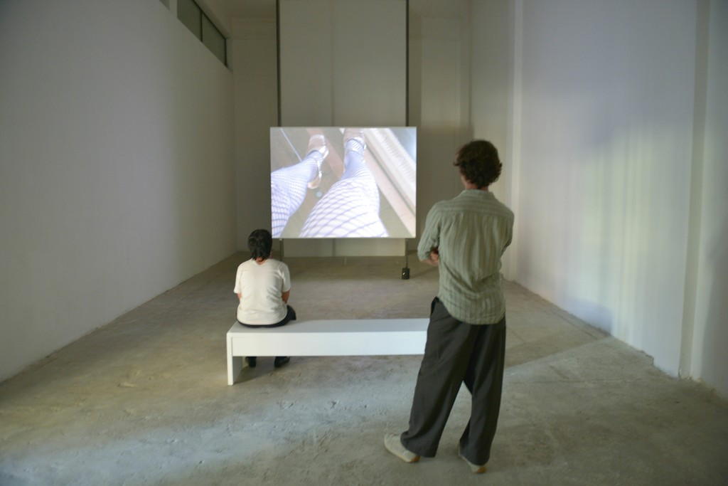 "Installation view of ""Aftercinema"" at Beirut Art Center, Lebanon (2015)"