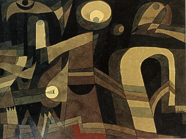 , 'At Night,' 1921, Galleria Tega