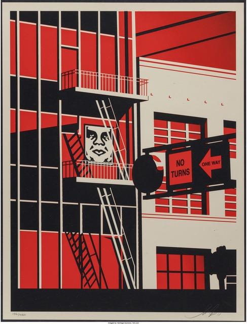 Shepard Fairey (OBEY), 'SF Fire Escape', 2011, Heritage Auctions