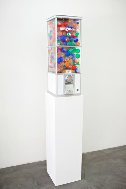Jennifer Dalton, 'Judgments 25 Cents', 2013, Charlie James Gallery