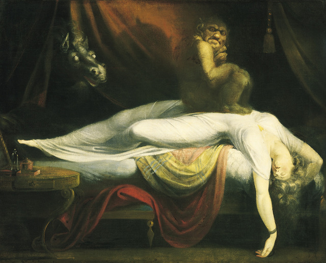 Henry Fuseli, 'The Nightmare', 1781, Art History 101