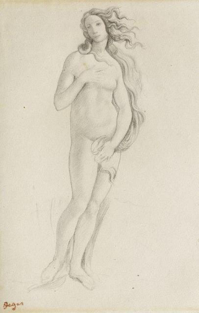 , 'Venus (nach Botticelli),' 1859, Gemäldegalerie Alte Meister