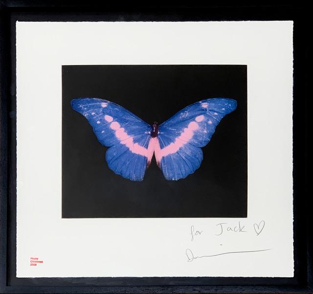 Damien Hirst, 'Blue Butterfly (small)', 2008, Fairhead Fine Art Limited