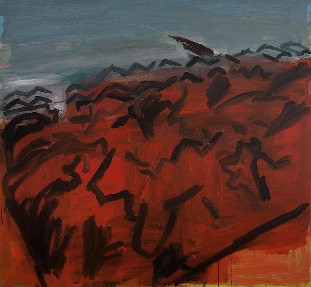 , 'Burnt Gorse,' 2011, SEA Foundation