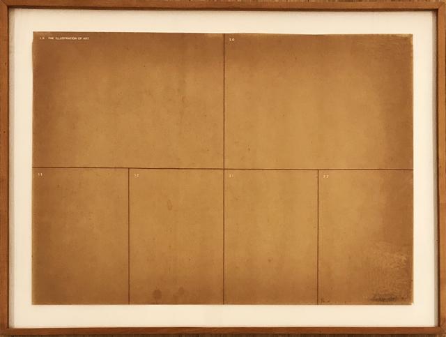 Antonio Dias, 'The Illustration of Art ', 1972, samba arte contemporânea