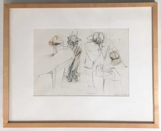 , 'Untitled (Study for Football),' 1954, Kim Eagles-Smith Gallery