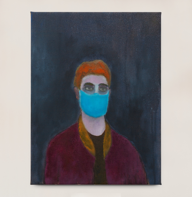 Kasper Sonne, 'Mask', 2021, Painting, Oil on linen, Brigade