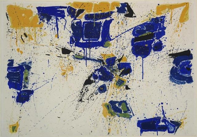 , 'The Upper Yellow,' 1960, F.L. Braswell Fine Art