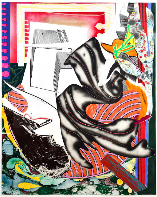 Frank Stella, 'Moby Dick from The Waves, Unique Color Trial Proof', 1989, Masterworks Fine Art