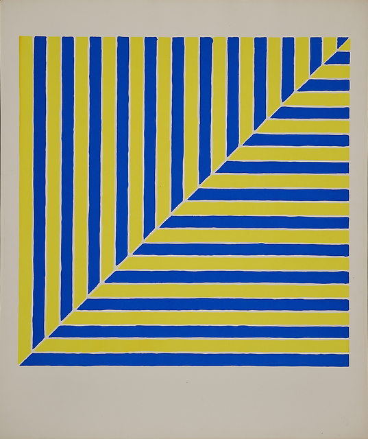 Frank Stella, 'Untitled (Rabat) from X + X  from Ten Works by Ten Painters', Rago/Wright