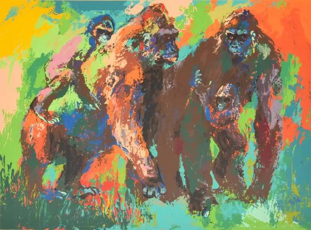 LeRoy Neiman, 'Gorilla Family', 1980, Modern Artifact