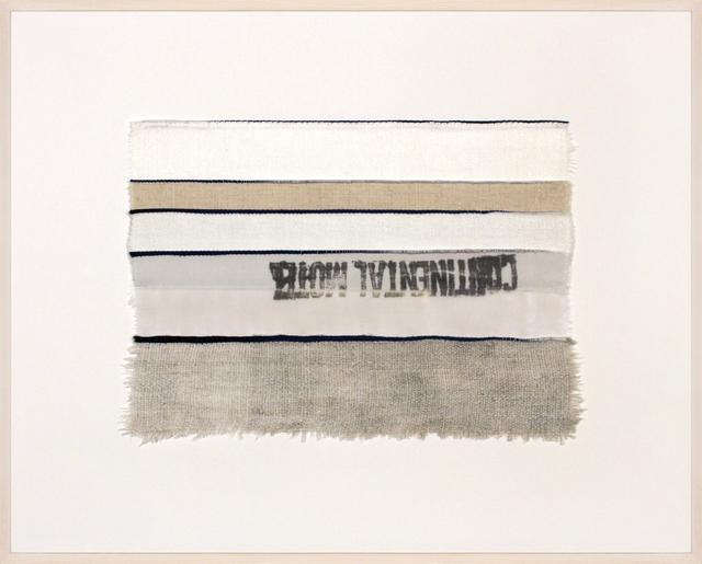 , 'Inventory Drawing Continental Motel,' 2017, Rhona Hoffman Gallery
