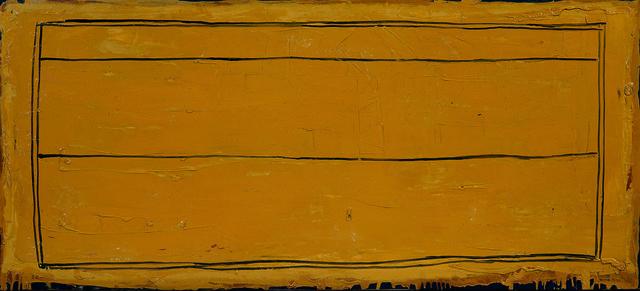 , 'Llindars ocre,' 1989, Galería Joan Prats