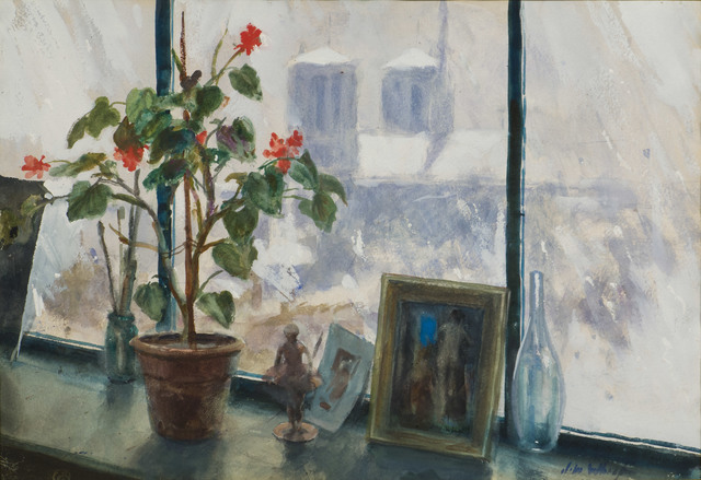 John Whorf, 'View through the Window, Paris', 20th Century, Vose Galleries