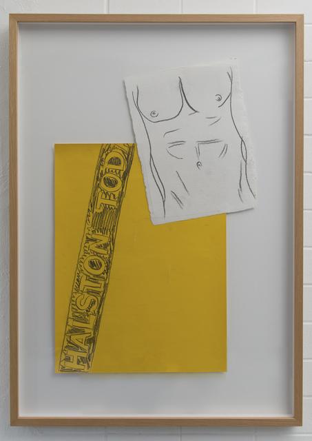 Andy Warhol, 'Halston Torso', 1982, MultiplesInc Projects