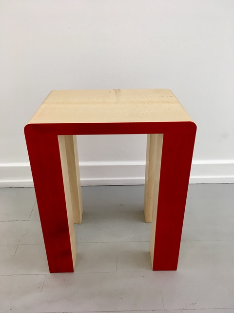 , 'Silo Stool - Red,' 2017, Etage Projects
