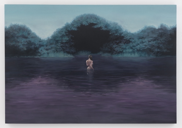Motohide Takami, 'NUT', 2015, Painting, Oil and chalk on panel, SEIZAN Gallery