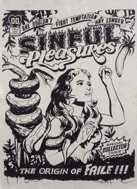 FAILE, 'Sinful Pleasure', 2006, Julien's Auctions