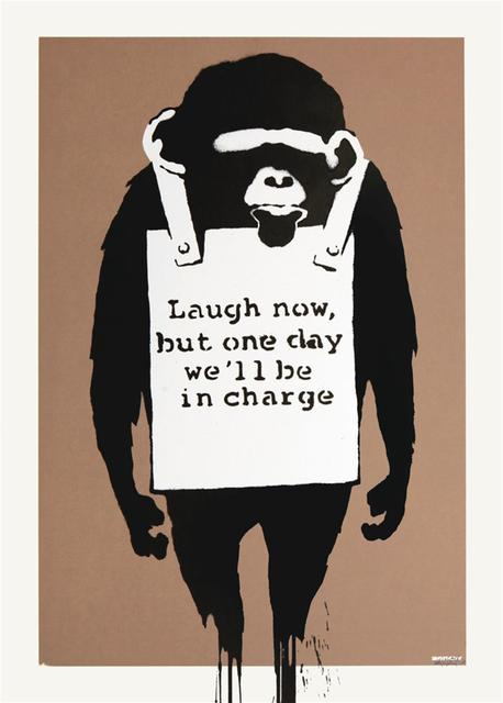 Banksy, 'Laugh Now', 2003, The Drang Gallery