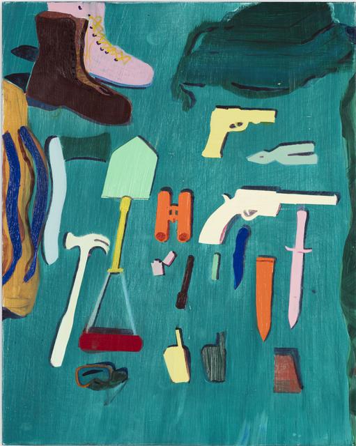 , 'The Happy Survivalist,' 2015, Monica De Cardenas