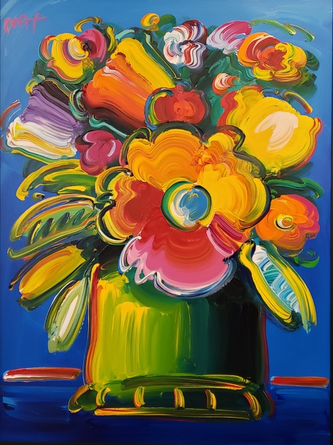 Peter Max, 'Abstract Flowers ', 2018, Off The Wall Gallery