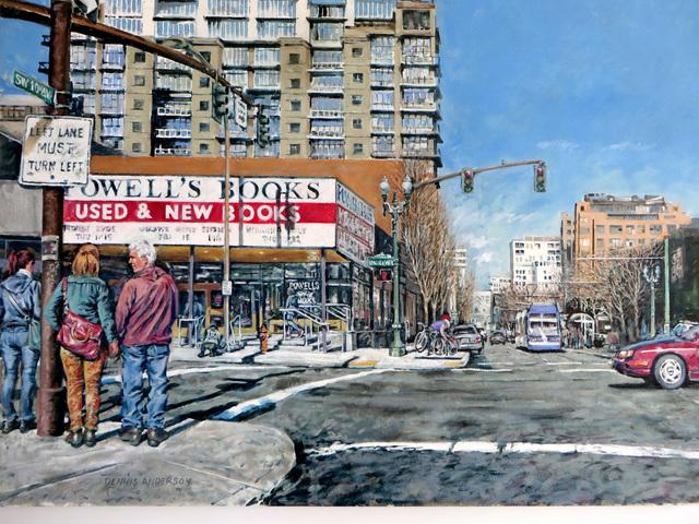 , 'SW 10th Ave,' 2015, J. Pepin Art Gallery