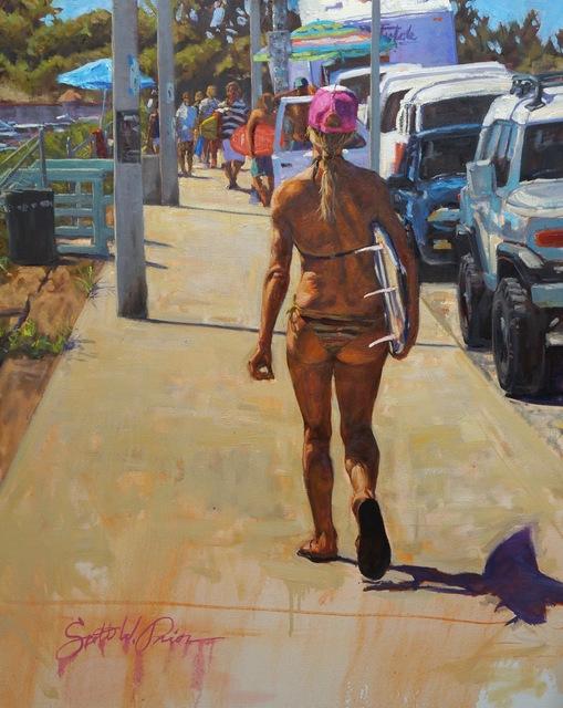 Scott W. Prior, 'Surfer Girl', 2010-2018, Helena Fox Fine Art