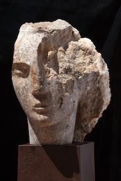 , 'Quartzite Head of a Woman I,' 2016, Bowman Sculpture