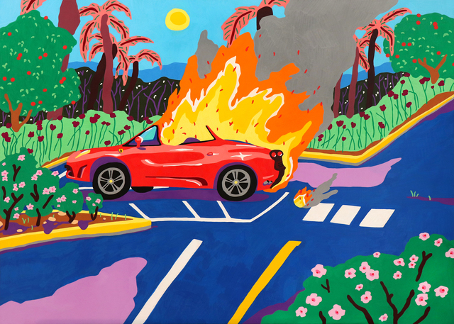 , 'DEATH IN A FERRARI,' 2018, Everard Read