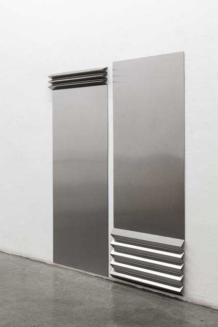 Toni Schmale, 'falte #1 #2', 2019, Christine König Galerie