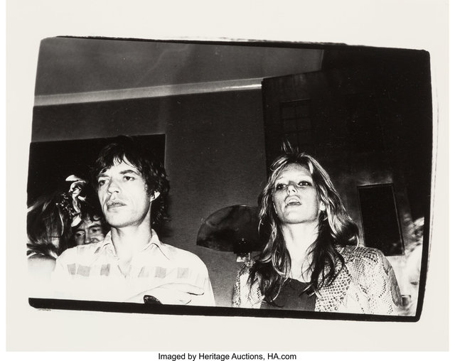 Andy Warhol, 'Mick Jagger and Patti Hansen', 1981, Heritage Auctions