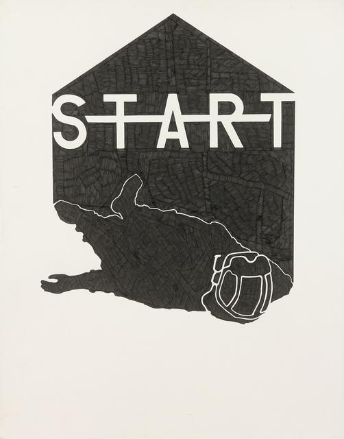 , 'Start,' 2017, Mirus Gallery