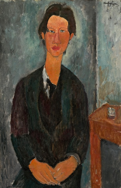 , 'Chaim Soutine,' 1917, National Gallery of Art, Washington, D.C.