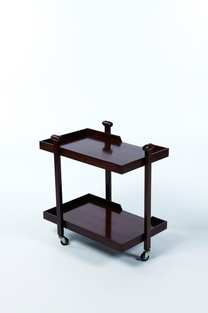 Franco Albini and Franca Helg, 'Bar cart model CR20 in teak', vers 1950, Design/Decorative Art, Leclere