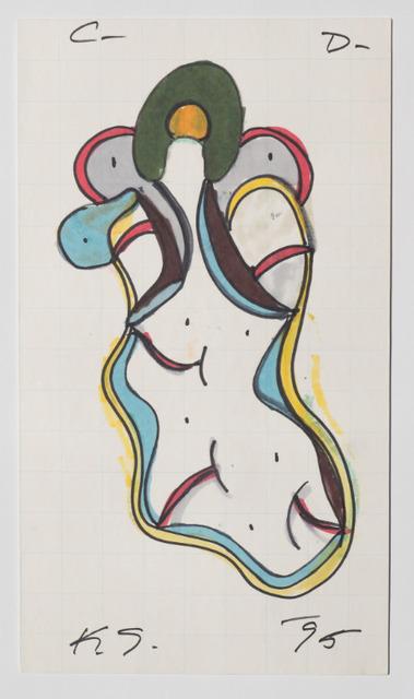 Keith Sonnier, 'Cat Doucet Drawing X (Cat Doucet Series)', 1995, Galleria Fumagalli