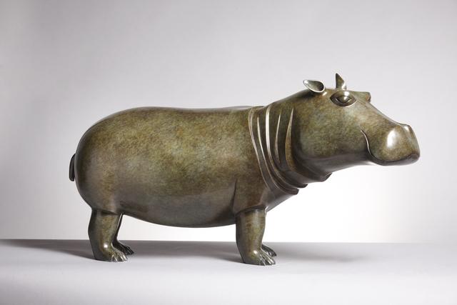 , 'Hippopotamus,' 2010, Galerie Dumonteil