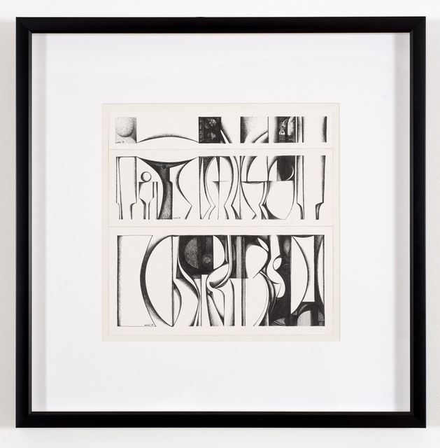 , 'Alphabet No.5,' 1988, Vigo Gallery