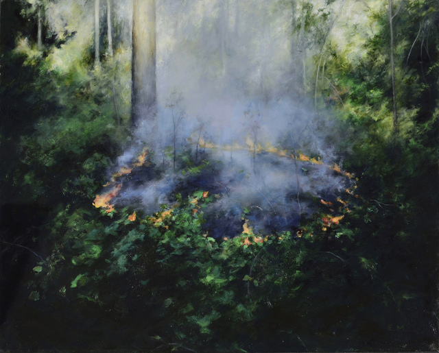 , 'Controlled Burn 3,' 2015, Abend Gallery