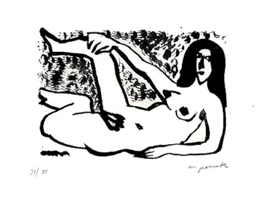 A.R. Penck, 'Kleine Liegende', 1990-2000, ARTEDIO