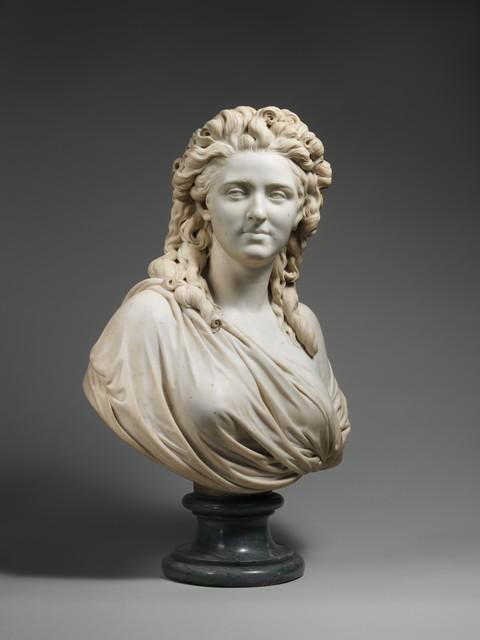 Augustin Pajou, 'Madame de Wailly, née Adélaïde-Flore Belleville (1765–1838)', 1789, The Metropolitan Museum of Art