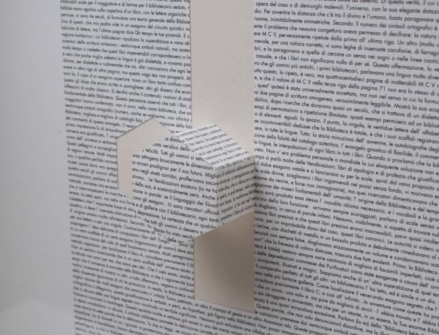, 'Untitled [La Biblioteca di Babele],' 2017, dr. julius | ap