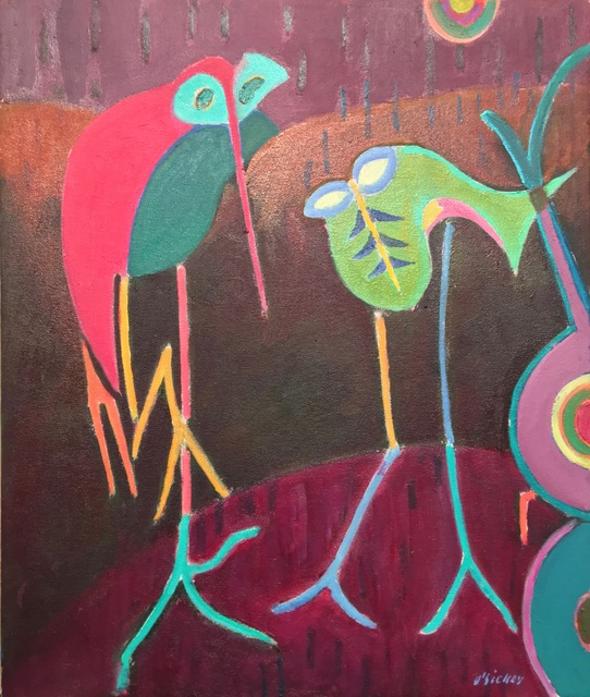 , 'Two Birds,' , Corcoran Fine Arts