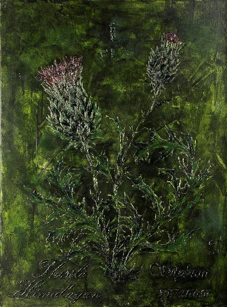 , 'Thistle -Himalayan ,' 2017, Exhibit 320