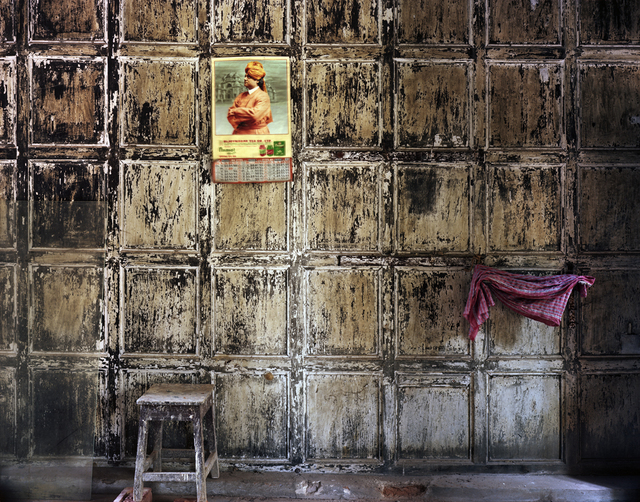Laura McPhee, 'Swami Vivekenanda Calendar at Bawali Rajbari (Mansion) During Renovation, West Bengal', 2013, Benrubi Gallery